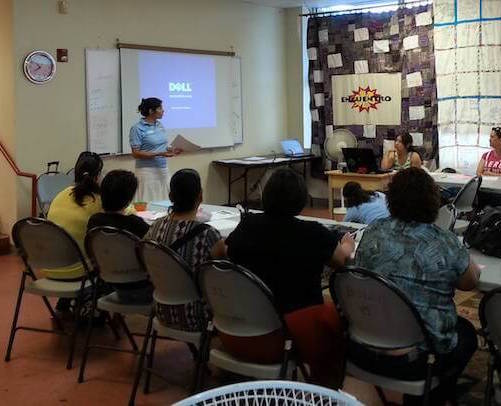Encuentro's small business fellowship meeting