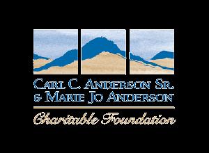Carl C. Anderson Sr. & Marie Jo Anderson Charitable Foundation Logo